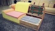 裝潢客廳搭配布藝沙發和真皮沙發需了解