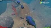 【卡卡象】饑餓鯊 饑餓龍 大魚吃小魚妖魔鬼怪饑餓之旅 游戲
