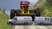 各種汽車事故模擬, 大卡車真的是好可怕