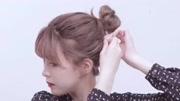 韩式短发内弯卷发 左侧夹外翘 体现调皮感 懒人必备 超简单卷