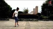 强晶广场鬼步舞
