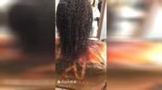 #黑人烫 #发型 一款黑人烫发的制作过程