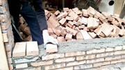實拍中國農村是怎么砌磚蓋房的,標準的視頻教學