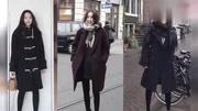 #冬季时尚搭配#:天气再冷也要穿裙子 