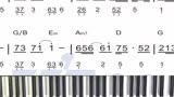 钢琴教学:电影战狼2推广曲《风去云不回》简谱教学2