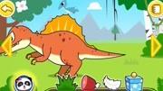 妙妙来到了恐龙世界图片