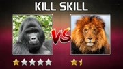 400多斤的银背大猩猩,和老虎打起来,会是什么结果