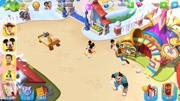 迪士尼夢幻王國 幫米奇搭建漂亮的小屋吧!游戲