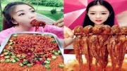 【吃播小姐姐】吃八爪魚爆頭,吃醬香烏賊,吃竹蟶,吃鮑魚,真香