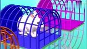 小兔?#24433;?#33821;卜游戏 认识颜色 形状 学习英语 婴幼儿早教益智玩具卡通动画英语启蒙