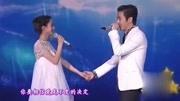 赵丽颖与陈晓对唱情歌,甜蜜牵手瞬间,深情眼神太让人羡慕了!