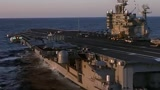 F18大黄蜂战斗机在航母完整起飞,看的激动人心