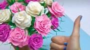 手把手教你做一束漂亮的玫瑰花束,手殘朋友黨也能輕松學會