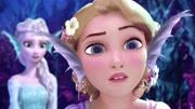安娜公主过生日,艾莎女王居然会感冒,带你看不一样的冰雪奇缘