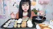 大胃王大喵:解鎖燒仙草新吃法加10份丸三芋圓5份仙草凍份布丁凍