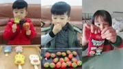 吃冰達人大叔:吃數字冰塊、杯子巧克力、字母軟糖、冰凍草莓!