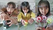 吃播一家人:玩玩具,吃水果硬糖,吃泡泡棉花糖,快來吃一個