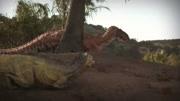 大鳄鱼吓哭小恐龙!帅气英雄安慰小恐龙