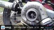涡轮增压发动机暴力测试,这涡轮介入声音可以的