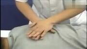 專家演示肩周炎按摩手法