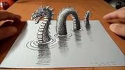 5大民間神秘怪物:天蛾人、大腳怪、雷鳥、尼斯湖水怪、嗜血魔物