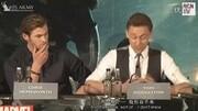 【法鯊:我不介意被錯認成抖森】法鯊宣傳《異形:契約》接受媒體采訪,被問到是否總被