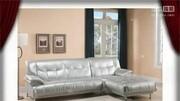 婆家嫂子給真皮沙發做的沙發罩,富媳婦嫌棄太丑