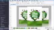 PS平面設計教程DM宣傳單頁1
