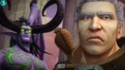《魔兽世界》7.3决战阿古斯, 图拉扬奥蕾莉亚终于现身