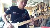 煙臺回聲樂器吉他演奏電視劇《春風十里不如你》片頭曲《如果我愛你》