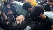150304宋茜韓國赴長沙機場新聞視頻