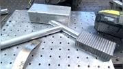 贵美铝业全铝网格门制作