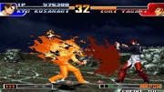 拳皇MUGEN:暴走八神庵VS暴走草薙京 这次是打出了真火气!