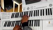 双排键脚踏电子琴演奏86版西游记片头曲《云宫迅音》好听图片