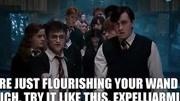 《哈利·波特》魔法咒語合集,以后要有人欺負我,我就念咒! ?