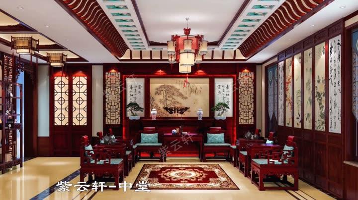 720中式背景图片素材