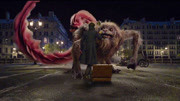 中國神獸騶吾加盟《神奇動物2》,一只巨大猛獸居然被逗貓棒馴服
