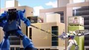 《高達》自拍創意戰斗玩具動畫!異端高達紅色機