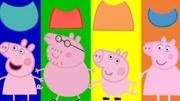 睡衣小英雄英文益智早教找出他們顏色對應的衣服穿上教讀