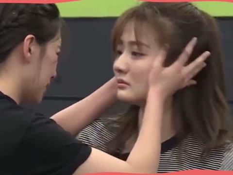 《我就是演员》花絮:阚清子徐璐排练,一秒入戏,两人抱头痛哭
