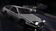頭文字D:AE86換了新引擎,文太試駕后說:稍微能應付!