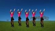 最近非常流行的健身廣場舞《38度6》動作非常酷