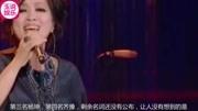 《歌手》排名,吳青峰神仙表演奪第一,劉歡墊底,阿云嘎讓人驚喜