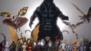 怪獸體型大對決!機械哥斯拉登場,最后出現的是三頭巨龍