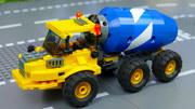 贊!超級英雄綠巨人救助遇難的垃圾車、混凝土攪拌機、油罐車!