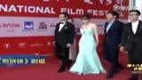 柳巖上海國際電影節 《煎餅俠》劇組加油