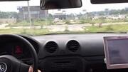 駕照練車之科目二,上海華茂女學員場地九項模擬考試教練指導仔細