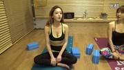 韩国男团看中国长腿女生的楼梯舞,看不厌的女神舞步