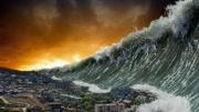 惊天海啸突然发生,瞬间摧毁人类文明,看完后才知道生命可贵!