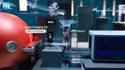 伊諾特一次性水晶餐具產品硬度承重測試視頻